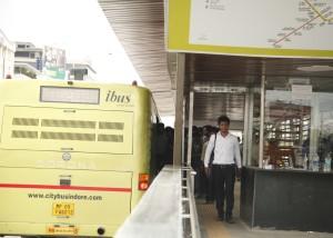 iBUS bus rapid transit in Indore