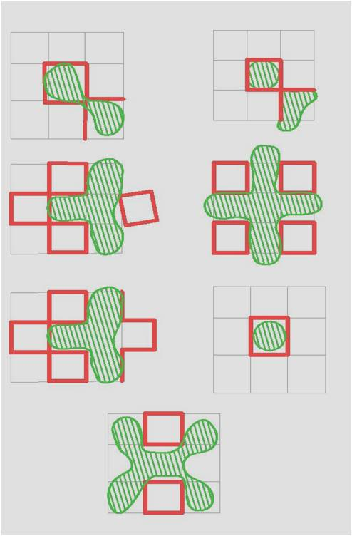 COURTYARD PATTERNS- In India the courtyard has always taught us the  relationship between the Built and Open space.