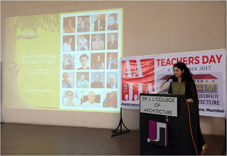 Book Launch at Sir JJ College of Architecture, Photo credit AAJJA